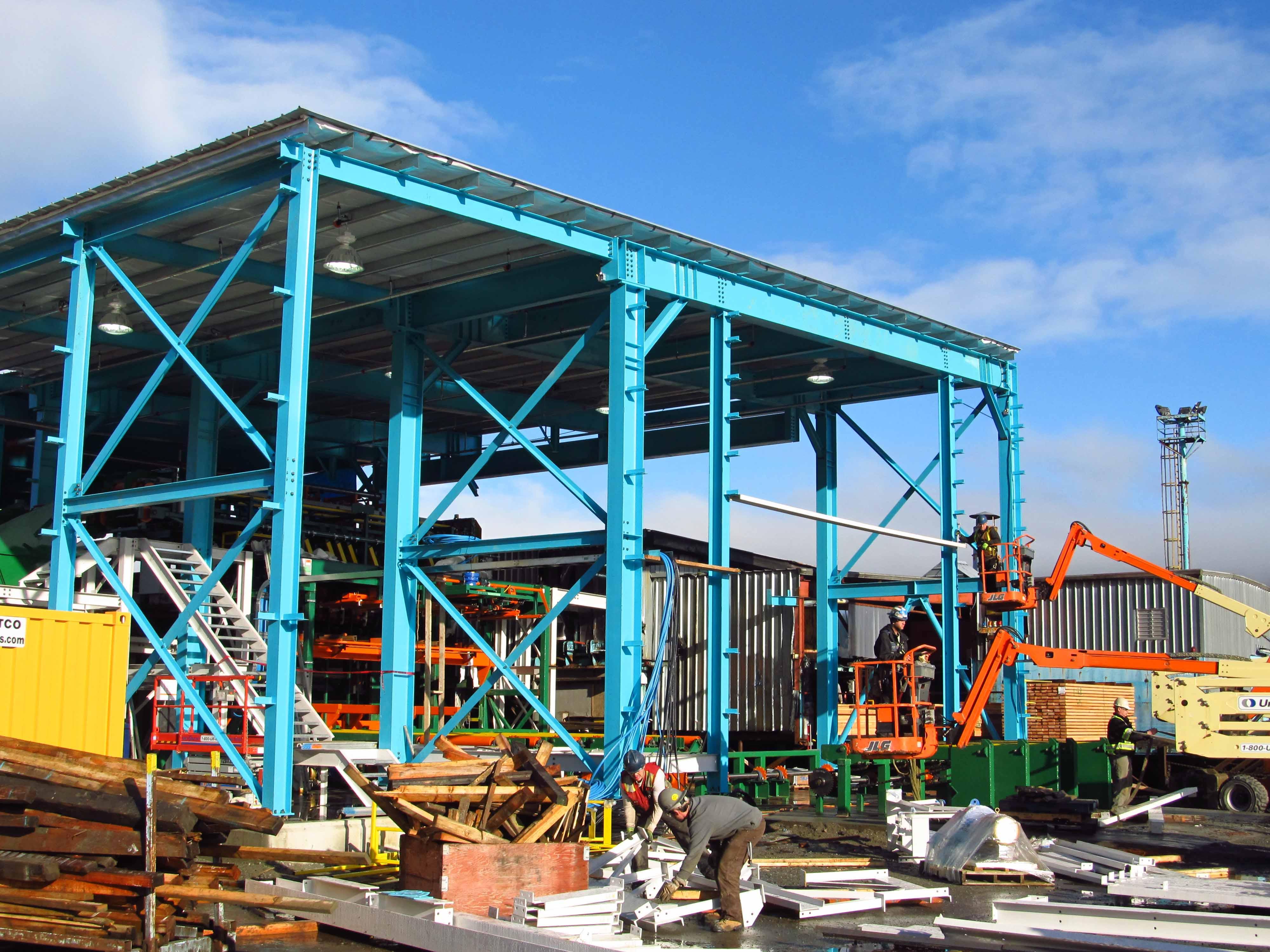 warnaar steel tech  u00bb western forest sawmill  u2013 ladysmith  bc